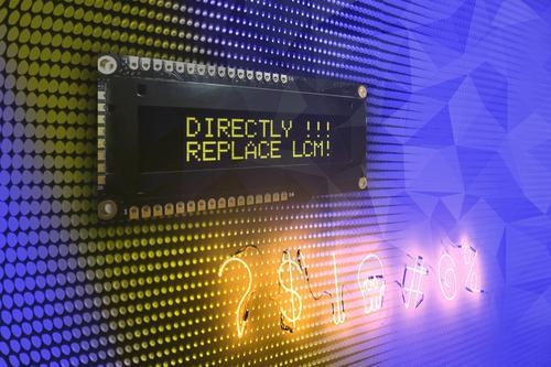 Alphanumeric OLED-Modules