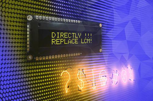 Alphanumeric OLED-Modules