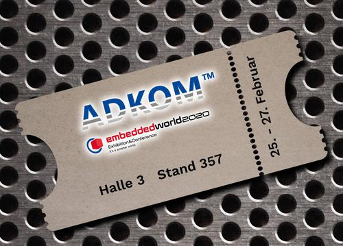 ADKOM on embedded world 2020
